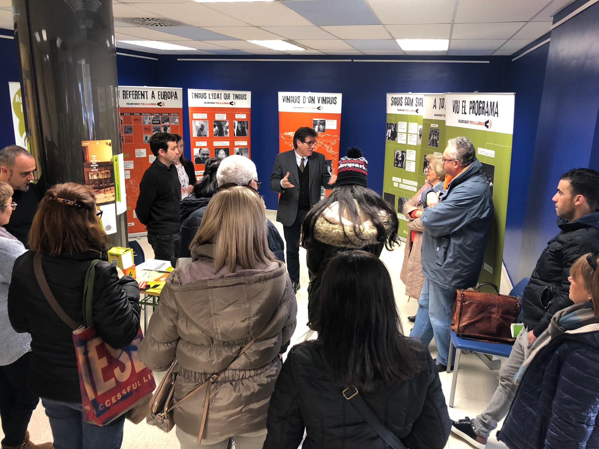 Exposició '10 anys de Voluntariat per la llengua'