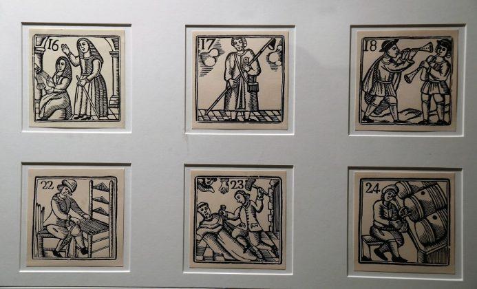 Inauguració 'Xilografies. La fusta feta imatge'