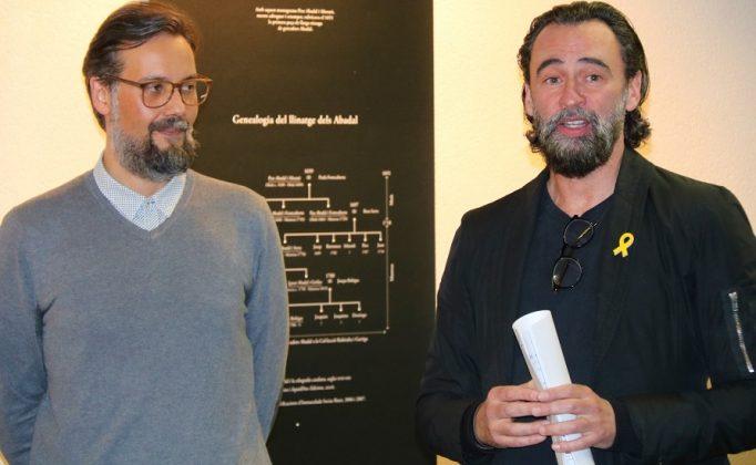 Suso Pérez i Xavier Rovira, comissaris de l'exposició