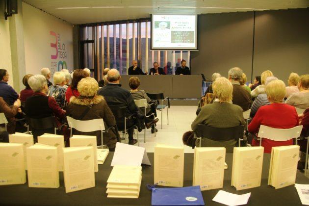 Presentació del llibre 'El que la terra m'ha donat', de Lluís Foix. Biblioteca Martorell