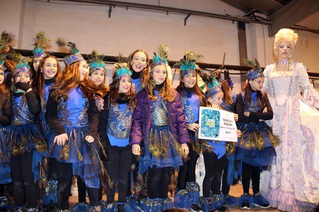 Lliurament de premis del Carnaval. 3r Premi Millor Coreografia. Martorell Gimnàstic Club