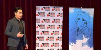 César Cortés al 1r Concurs de Cant Josep Palet
