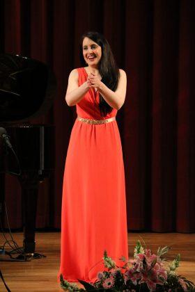 Irene Mas. Final del 2n Concurs de Cant Josep Palet