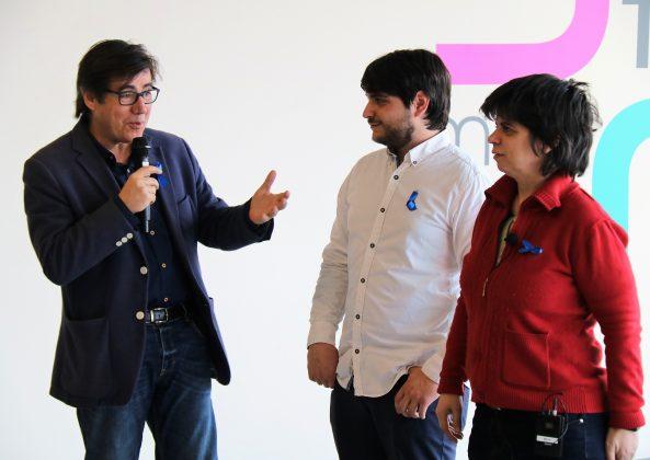 L'alcalde Xavier Fonollosa al col·loqui del Dia Internacional de l'Autisme