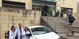 Membres Unitat d'Hospitalització Domiciliària Hospital de Martorell