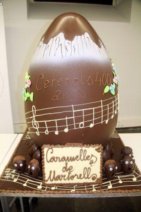Caramelles. L'ou gegant de la mona, inspirat en l'Any Cererols