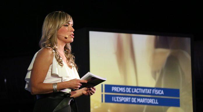 La presentadora, Elisabet Carnicé