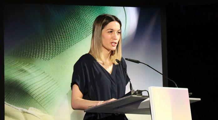 Belén Leiva, regidora d'Esports de l'Ajuntament de Martorell