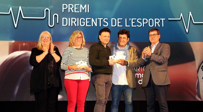 Premi dirigents de l'esport a Eva Rodríguez Torras i Francisco Pérez Peinado