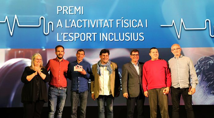 Premi a l'activitat física i a l'esport inclusius a Rubén Capuz Peralta i el Club Social Punt de Trobada.