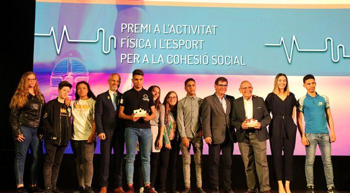 Premi a l'activitat física i a l'esport per a la cohesió social a Heroes of the Cruyff Court i el Grup Aigua Salut Gent Gran 'F'
