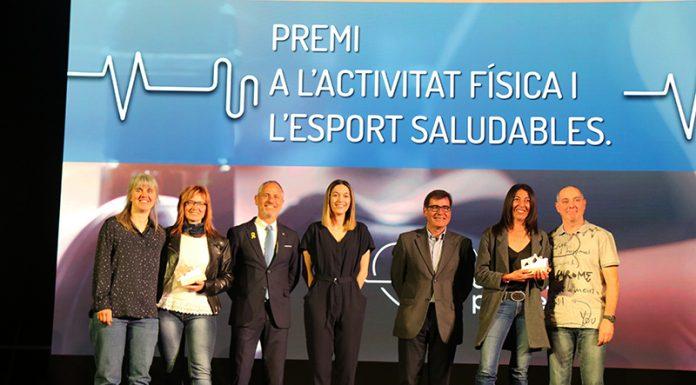 Premi a l'activitat física i l'esport saludables al Grup d'Atletisme i Salut del Martorell Atlètic Club i el Martorell Pàdel Club.