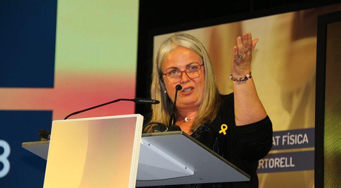 Maite Fandos, Diputada Delegada d'Esports de la Diputació de Barcelona
