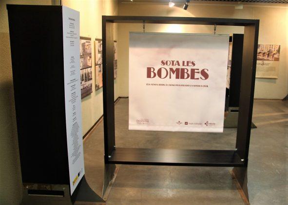 'Sota les bombes'