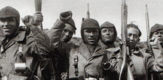 Milicians al Guadarrama. Foto: Heraldo de Madrid