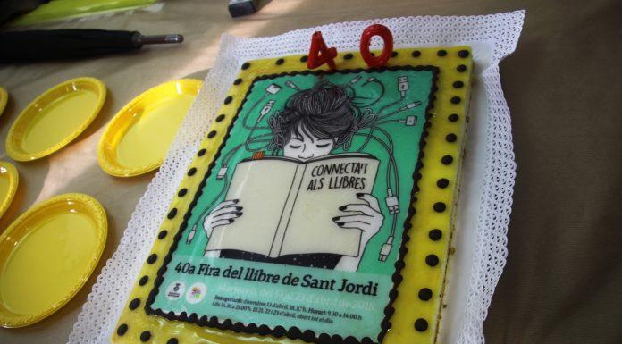 Inauguració 40a Fira del Llibre de Sant Jordi