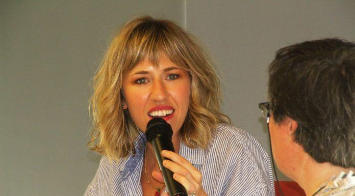 Carlota Benet, autora del llibre