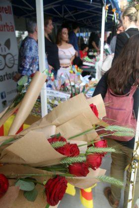 Fira de Sant Jordi. Parades d'entitats