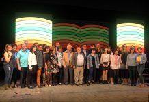 43è Premi Vila de Martorell. Fotografia de família dels guardonats, jurat i autoritats