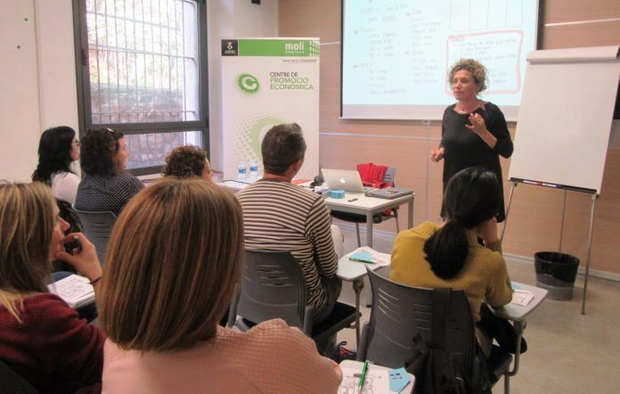 Maria Batet, entrenadora d'emprenedors