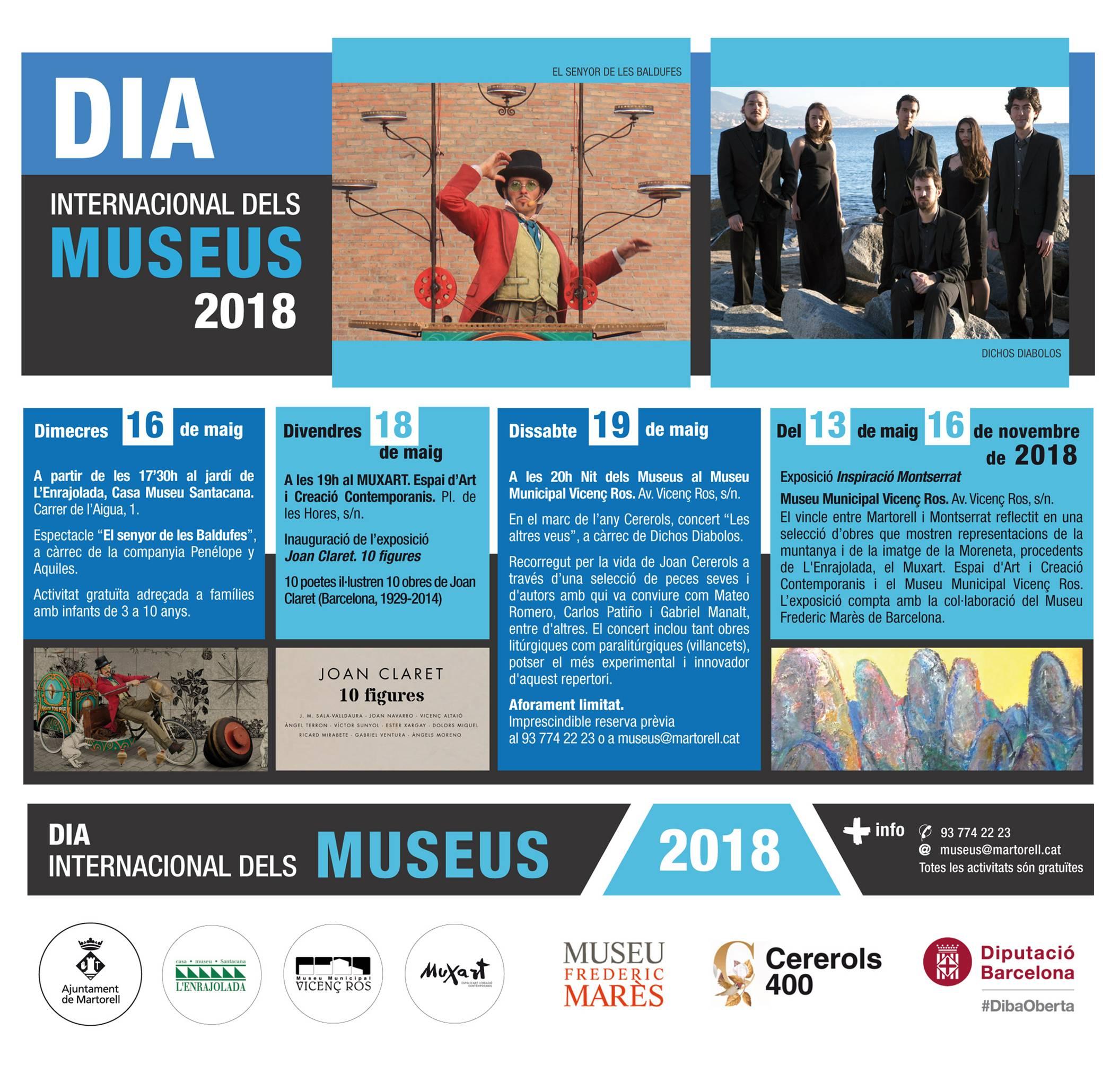 Actes del Dia Internacional dels Museus