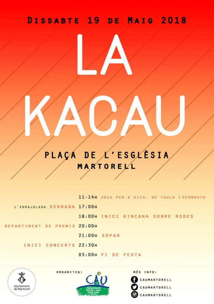 Cartell de 'La Kacau' 2018