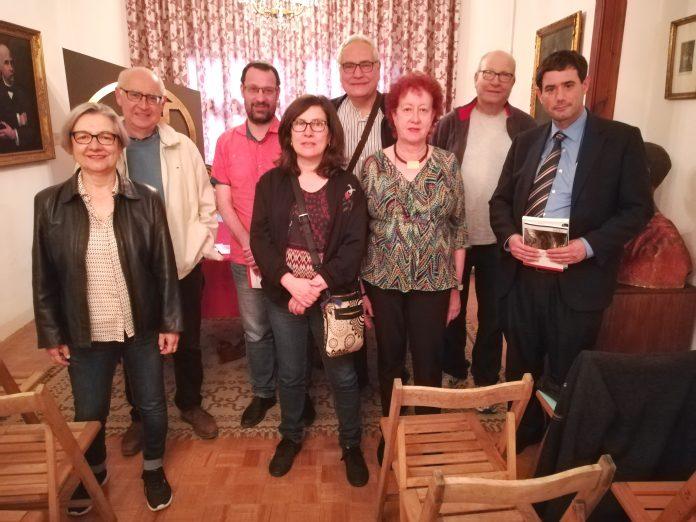 Presentació del llibre de Joan Cuscó a la Fundació Francesc Pujols