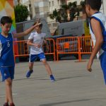 3X3 bàsquet al carrer