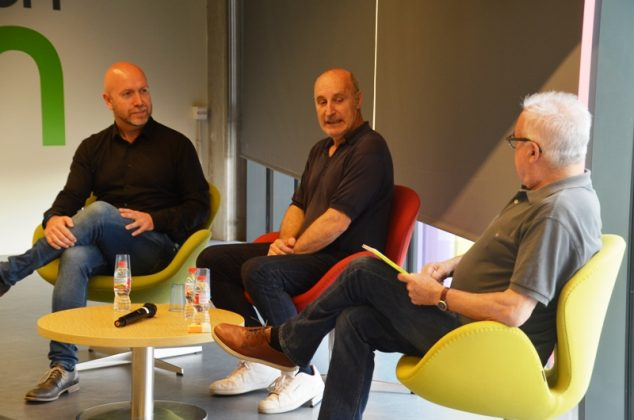 Sergi Corral, Paco Mir i Ferran Mesalles