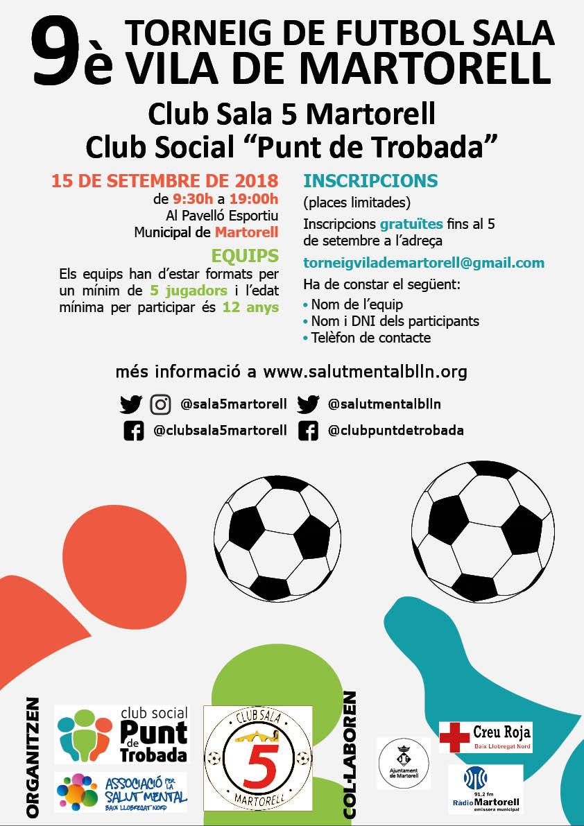 9è Torneig Vila de Martorell de Futbol Sala