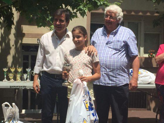 Lliurament de premis del XXXV Concurs Infantil de Pesca