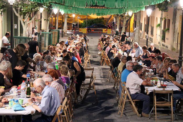 Sopar de germanor de les festes del Pont del Diable