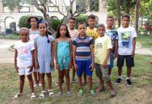 Nens sahrauís arribats al Baix Llobregat Nord l'estiu de 2017