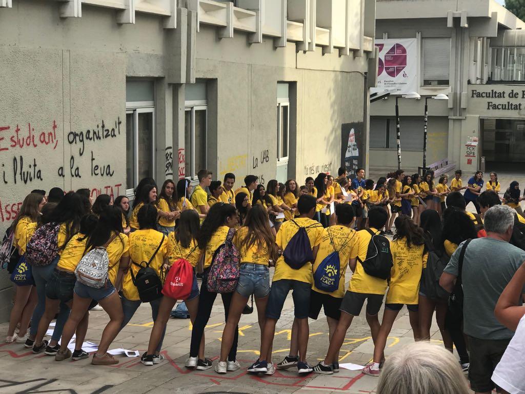 Estudiants de Martorell al Campus Ítaca