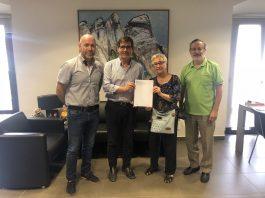 Signatura conveni CEM