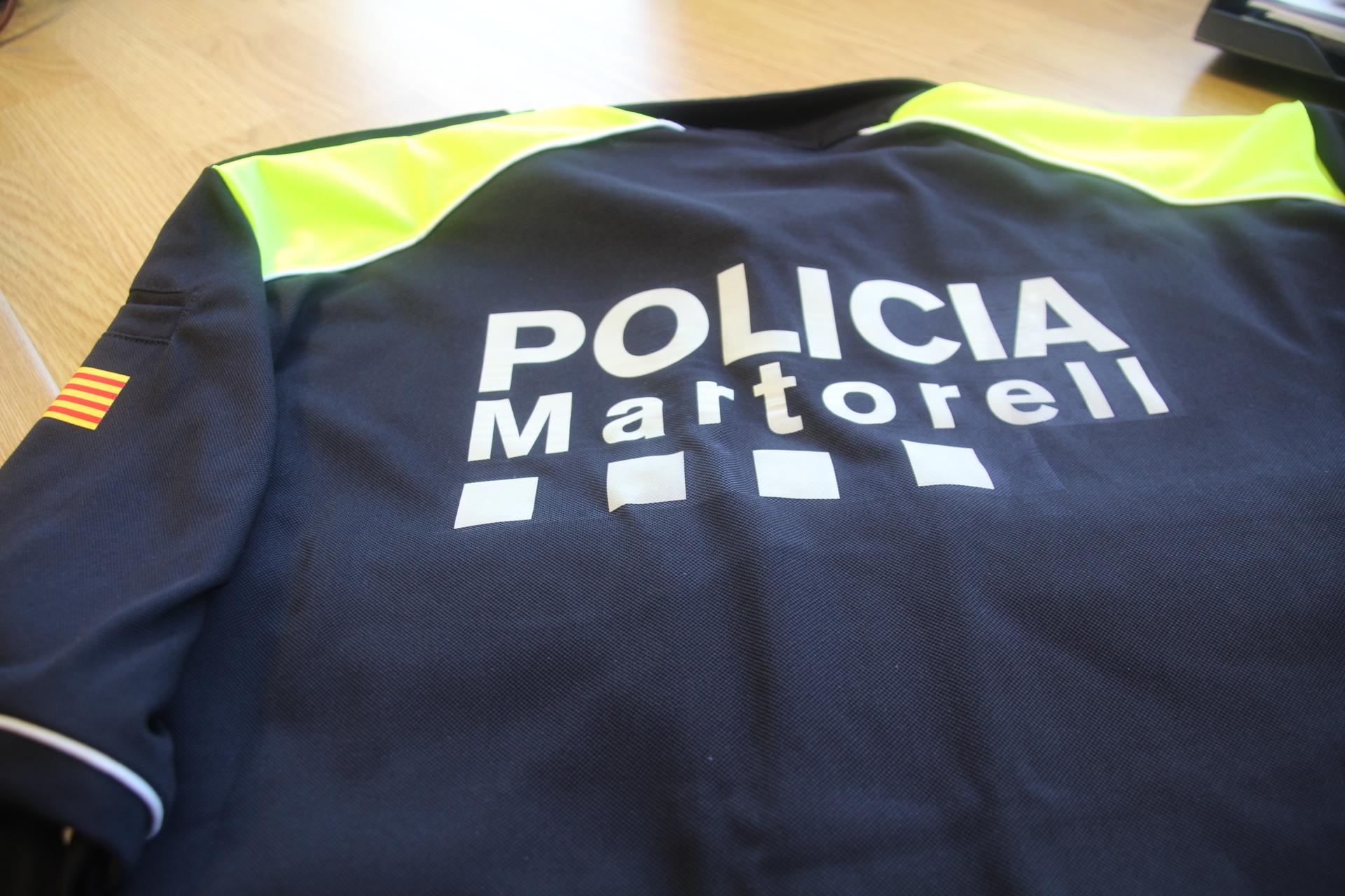 Nous uniformes Policia Local Martorell