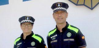 Agents Policia Local Martorell amb els nous uniformes