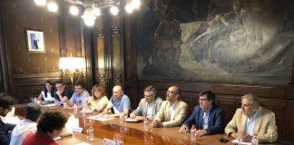 Reunió amb la delegada del Govern, Teresa Cunillera