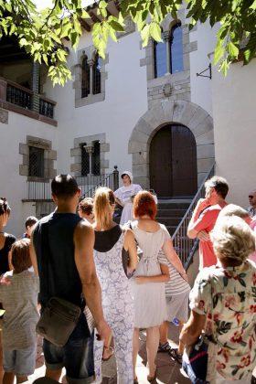 Visita teatralitzada a l'Enrajolada