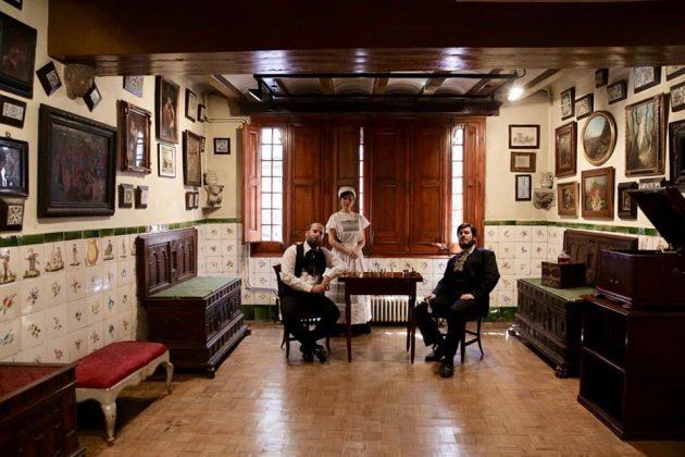 Visita teatralitzada a l'Enrajolada. Foto: Grisphoto
