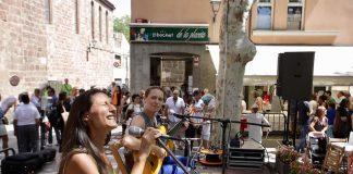 Isabeles al concert vermut de Festa Major