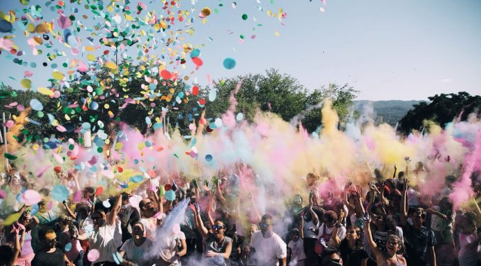 Holi Festival. Foto: Grisphoto