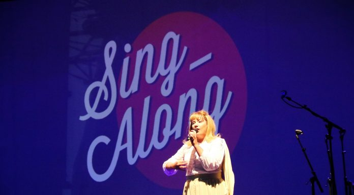 Sandy de Sing-Along Grease