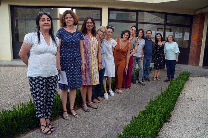 El personal docent de l'Escola Oficial d'Idiomes de Martorell