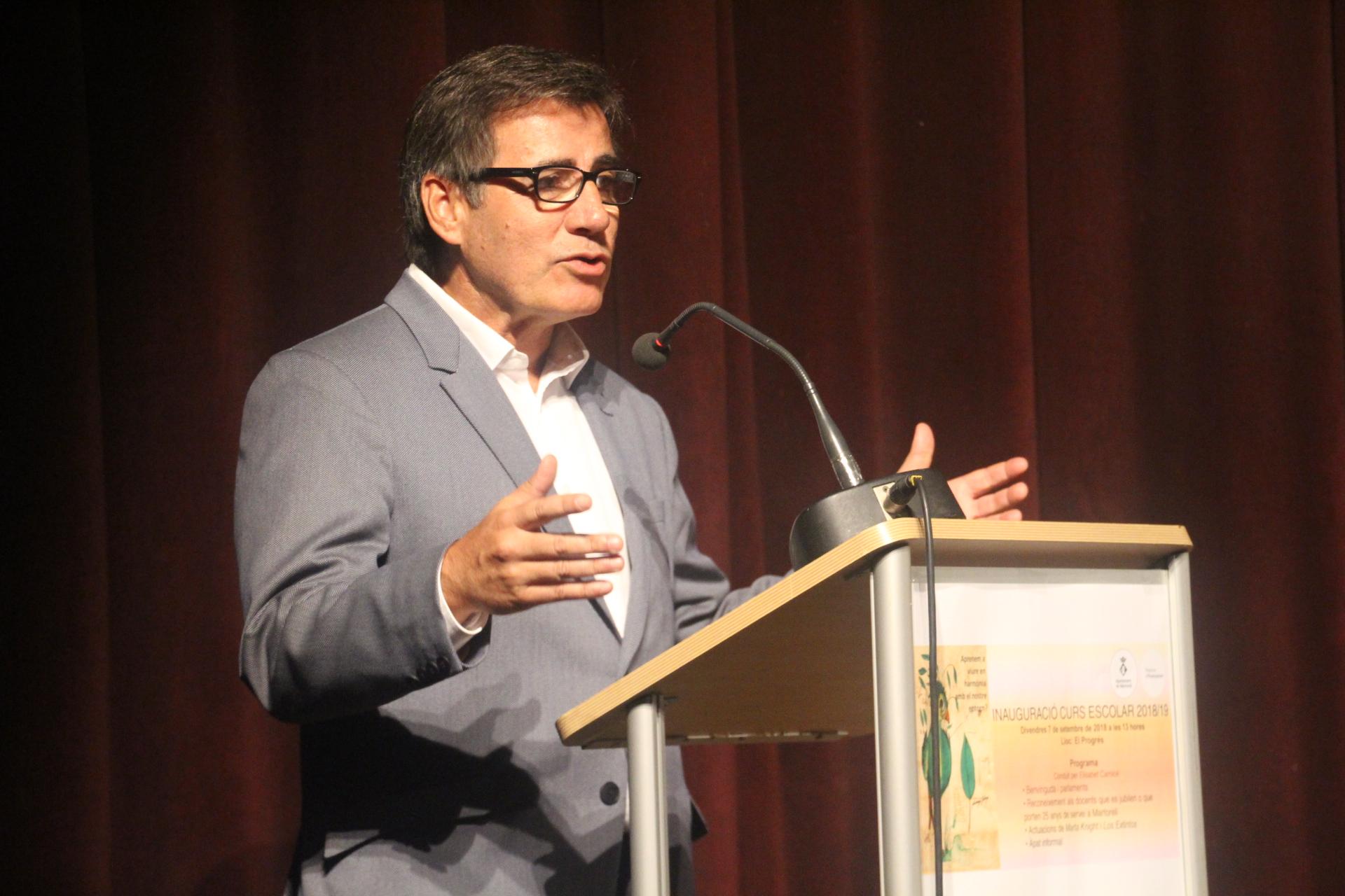 Presentació del curs escolar 2018-19. Xavier Fonollosa