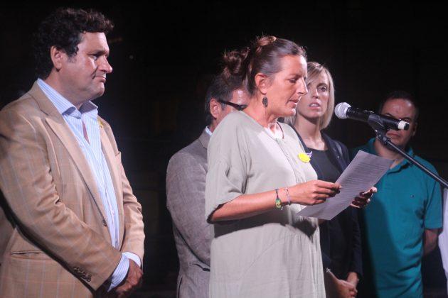 Maria Esteban, membre Òmnium Cultural