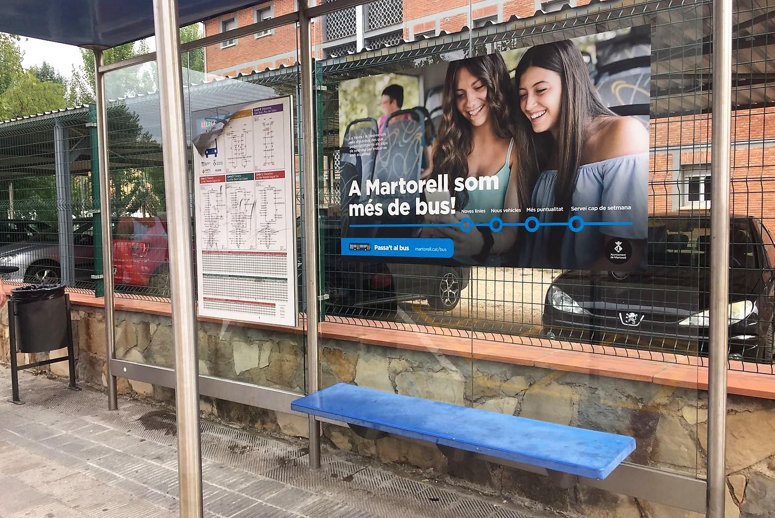 Campanya foment transport públic