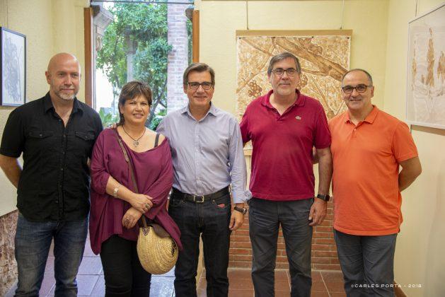 'Mitologia clàssica i vinya' de Marta Arañó. Foto: Carles Porta
