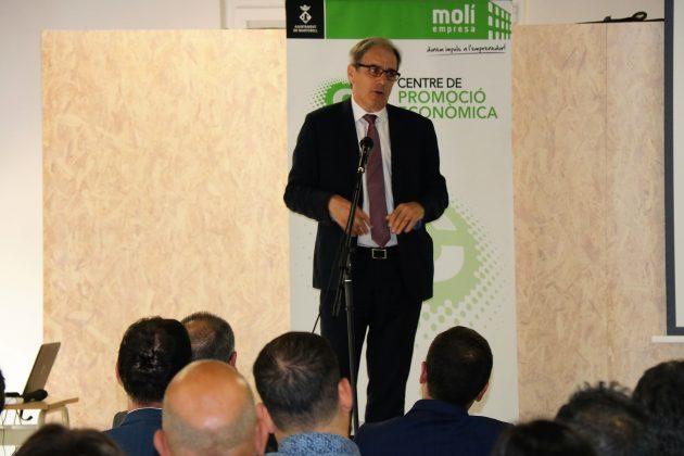 Pere Homs, director general del Col·legi d'Enginyers Industrials de Catalunya