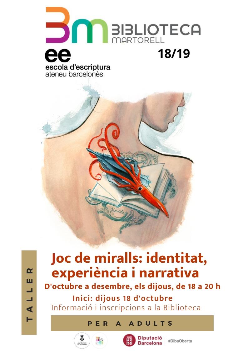 Taller d'escriptura Ateneu Barcelonés